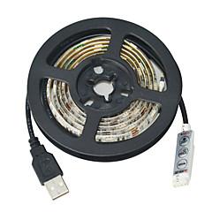 Jiawen USB 30-SMD5050 rgb 1m luce di striscia impermeabile