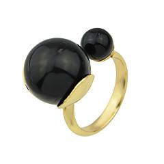 טבעות אופנתי Party / יומי תכשיטים סגסוגת נשים טבעות הצהרה 1pc,9 מוזהב