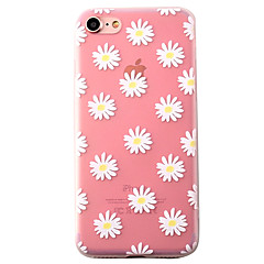 Chrysanthemum Pattern High Quality Scrub TPU Material Soft Phone Case For iPhone 7 7 Plus 6S 6Plus