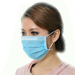 wegwerp blauw oorlus gezichtsmasker filters bacteriën 3 laags 50 / bx