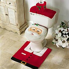 Boldog karácsonyt és boldog új évet legjobb karácsonyi ajándék& karácsonyi díszek fürdőszoba WC-ülőke szőnyeg