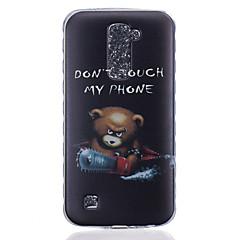 Voor LG hoesje Patroon hoesje Achterkantje hoesje Cartoon Zacht TPU LG LG K10 / LG K8 / LG K7 / LG K4 / LG G5 / LG G4 / LG G3