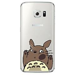 Para Samsung Galaxy S7 Edge Transparente / Estampada Capinha Capa Traseira Capinha Desenho Macia TPU SamsungS7 edge / S7 / S6 edge plus /