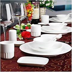 High Level Hotel Ceramics Daily Use Ceramic Table Set Tableware
