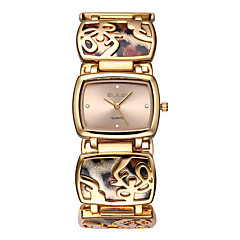 WEIQIN® Womens Watch fashion Leopard  Bracelet Simple Rhinestone Alloy Band Cool Wrist Watches Unique Watches Fashion Watch