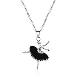 Damskie Naszyjniki z wisiorkami Kryształ Kryształ sztuczna Diament StopSłodkie Style luksusowa biżuteria Frędzle przejście Modny Bohemia