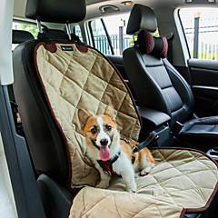 Gatto / Cane Fodera per sedile auto Animali domestici Materassini & Lettini Ompermeabile / Portatile / Morbido Nero / Marrone / Beige