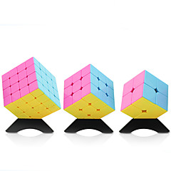Yongjun® Glat Speed Cube 2*2*2 / 3*3*3 / 4*4*4 Hastighed / Professionel Level Minsker stress / Magiske terninger Orange glat Sticker