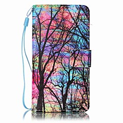 For Sony Case Wallet / Card Holder / with Stand / Pattern Case Full Body Case Tree Hard PU Leather for SonySony Xperia XA / Sony Xperia