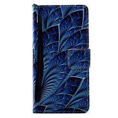 Do sony xperia x xa pokrowiec na kwiaty niebieskie kwiaty wzór malowanie pu material skórzany stent do xp xz