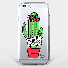 Cactus  TPU Case For Iphone 7 7Plus 6S/6 6Plus/5 5S SE