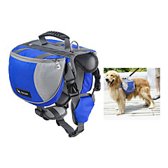Perro Paquete de perro Mascotas Portadores Impermeable / Portátil Rojo / Negro / Azul / Naranja Nylón