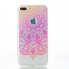 For iPhone 7 etui iPhone 7 Plus etui iPhone 6 etui Mønster Etui Bagcover Etui blondedesign Blødt TPU for AppleiPhone 7 Plus iPhone 7
