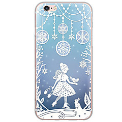 Για Εξαιρετικά λεπτή / Ημιδιαφανές tok Πίσω Κάλυμμα tok Χριστούγεννα Μαλακή TPU AppleiPhone 7 Plus / iPhone 7 / iPhone 6s Plus/6 Plus /