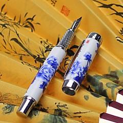 Kynä Kynä Täytekynät Kynä,Keraaminen tynnyri Musta Ink Colors For Koulutarvikkeet Toimistotarvikkeet Pakkaus