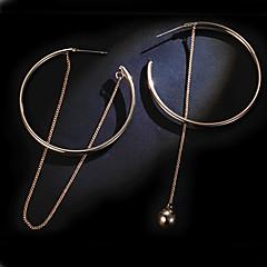 Druppel oorbellen Ring oorbellen Dangle Oorbellen Sieraden Goud Legering Goud Sieraden Voor Bruiloft Feest Dagelijks Causaal 1 paar