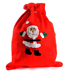 2db karácsonyi ajándékcsomagot mikulás zsák karácsonyest ajándékcsomagot (stílus véletlenszerű)