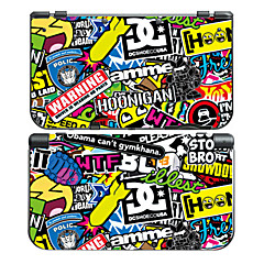 NEW 3DS LL Console Protective Sticker Cover Skin Controller Skin Sticker