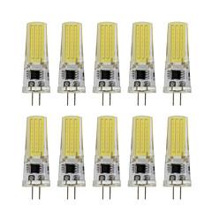 9 G4 Luminárias de LED  Duplo-Pin T 1 COB 350 lm Branco Quente / Branco Frio Decorativa AC 220-240 V 10 pçs