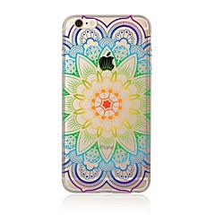 Mandala Pattern TPU Soft Case Cover For Apple iPhone 7 7 Plus iPhone 6 6 Plus iPhone 5 5C iPhone 4