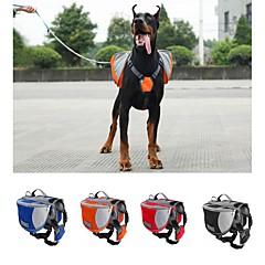 Cane Dog Confezione Animali domestici Supporto Ompermeabile / Portatile Rosso / Nero / Blu / Arancione Nylon