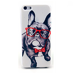ευτυχής γυαλιά μοτίβο σκυλί σκληρό εξώφυλλο για το iphone 6