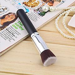 1PCS 화장품 메이크업 브러쉬 검은 재단 브러쉬 부드러운 합성 머리