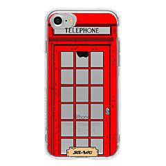 Voor Patroon hoesje Achterkantje hoesje Stadsgezicht Zacht TPU AppleiPhone 7 Plus / iPhone 7 / iPhone 6s Plus/6 Plus / iPhone 6s/6 /