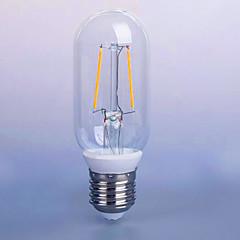 2W E26/E27 Lampadine LED a incandescenza P45 2 SMD 5730 140 lm Bianco caldo Decorativo V 1 pezzo
