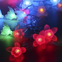20-LED 2.5M Star Light Waterproof  Plug Outdoor Christmas Holiday Decoration Light LED String Light