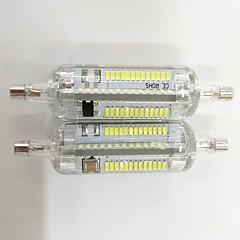 7W R7S LED-maissilamput T 104 SMD 3014 600lm lm Lämmin valkoinen / Kylmä valkoinen Koristeltu V 2 kpl