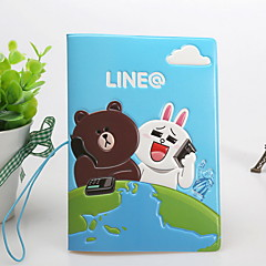 Cartoon Travel Passport Holder & ID Holder Waterproof / Dust Proof / Portable Travel Storage PVC