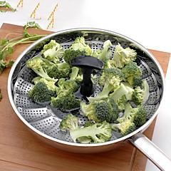 Vegetable Steamer 1PC Multi-Functies / Beste kwaliteit / Hoge kwaliteit / Creative Kitchen Gadget Kookgerei Roestvast staalMulti-Functies