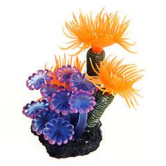 Διακόσμηση Ενυδρείου Στολίδια Υδρόβιο φυτό Πλαστικό