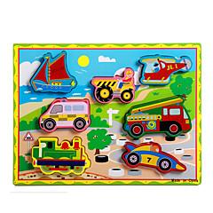 직소 퍼즐 교육용 장난감 / 직쏘 퍼즐 빌딩 블록 DIY 장난감 옷자락 / 차 / 마차 / 오토바이 / 버스 / 트럭 8 나무 무지개 레져 취미용품