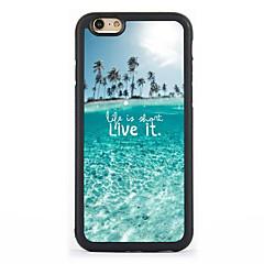 For iPhone 7 etui iPhone 6 etui iPhone 5 etui Mønster Etui Bagcover Etui Bybillede Hårdt Aluminium for AppleiPhone 7 Plus iPhone 7 iPhone