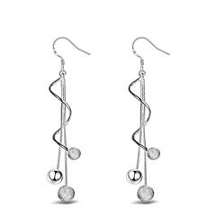 Kadın Damla Küpeler top Küpe Mücevher kostüm takısı Som Gümüş Mücevher Uyumluluk Düğün Parti Günlük Spor