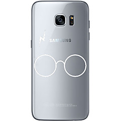 Glasses Soft Material For Compatibility TPU For Samsung Galaxy S6 Edge Plus S6 S7 Edge S7