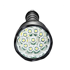 Φωτισμοί Φακοί LED LED 3800 Lumens 5 Τρόπος LED 18650 ΑΑΑ Με ροοστάτη Αδιάβροχη Εξαιρετικά Ελαφρύ High Power