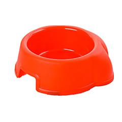 Cane Mangiatoie Animali domestici Ciotole e alimentazione Portatile Colore casuale Plastica
