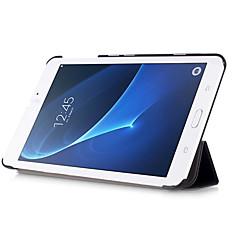 case voor Samsung Galaxy Tab een 7,0 t280 T285 slanke flip-boek pu leer standaardafdekking gevallen