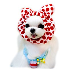 Cat Dog Bandanas & Hats Dog Clothes Summer Spring/Fall Leopard Cute Holiday Fashion Coffee Red Pink