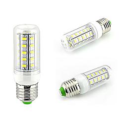 1 pcs E26/E27 10W 36SMD5730 800LM Warm White / Natural White Decorative Corn Bulbs 110V/220V