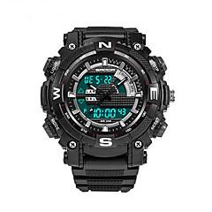 SANDA Herre Sportsur Militærur Smartur Modeur Armbåndsur Digital Japansk QuartzLED Kronograf Vandafvisende Dobbelte Tidszoner Stopur