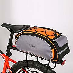 Rosewheel 자전거 가방 13L자전거 트렁크 백/자전거 짐바구니 어깨에 매는 가방 자전거 트렁크 백 방습 충격방지 착용할 수 있는 싸이클 가방 PU 피혁 600D 폴리에스터 싸이클 백