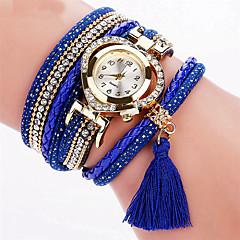 Dames Modieus horloge Polshorloge Armbandhorloge Kleurrijk Kwarts PU BandVintage Glitter Heart Shape Gestipt Snoep Regenboog Bohémien