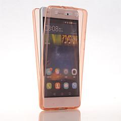 Teljes test Ultra vékony Tömör szín TPU Mekano Tok Huawei Huawei P8 Lite