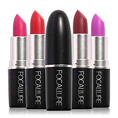 립스틱 젖은 / 무광 / 광물 스틱 지속 시간 / 방수 / 천연 / 빠른 건조 가능한 색상 1Pcs FOCALLURE