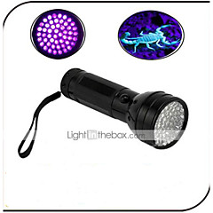 Valaistus LED taskulamput LED 100 lumens Lumenia 1 Tila - AA Vedenkestävä / Ultraviolet Light / Väärennetyt DetectorPäivittäiskäyttöön /