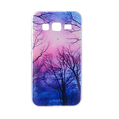 Dla samsung galaxy j7 j5 pokrowiec obudowa duskwood malowany wzór tpu materiał obudowa telefonu